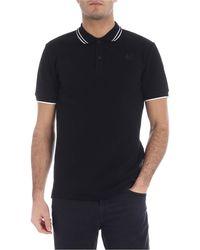 McQ Swallow Polo Shirt - Black