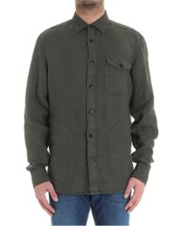 Z Zegna - Green Shirt With Pockets - Lyst