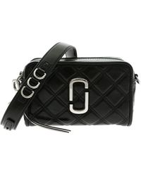 Marc Jacobs The Quilted Softshot 21 Borsa Nera - Nero