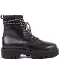 Furla Rita Ankle Boots - Black