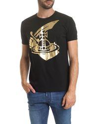 Vivienne Westwood Anglomania Arm & Cutlass Crew-neck T-shirt - Black