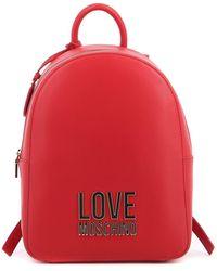 Love Moschino Zainetto - Rosso