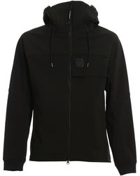 C.P. Company Stretch Tech Fabric Jacket - Black