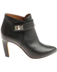 Givenchy - Black Shark Bottine Ankle Boots - Lyst