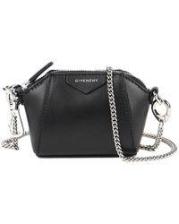 Givenchy Antigona Baby Leather Purse - Black