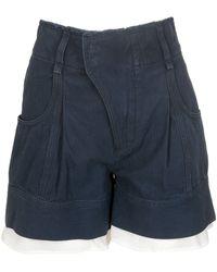 Chloé - Lingerie Detailed High-waisted Shorts - Lyst