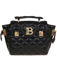 Balmain B-buzz 23 Handbag - Black