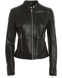 Belstaff Mollison Leather Jacket - Black