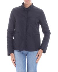 Aspesi - Black Thermore Padded Jacket - Lyst