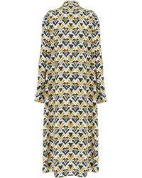Aspesi Multicolour Pattern Printed Dress - Yellow