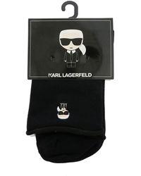Karl Lagerfeld K/ikonik Socks Set - Black