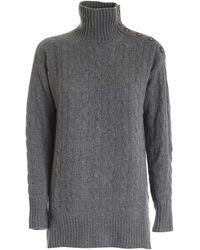 Polo Ralph Lauren Knitted Turtleneck - Gray