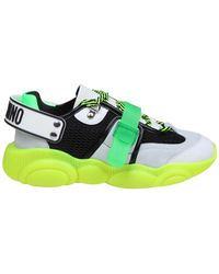 Moschino - Teddy Fluo Trainers - Lyst