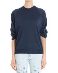 Stella McCartney - Gathered Sleeves Sweater - Lyst