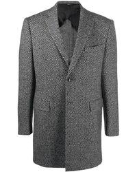 Tonello - Virgin Wool Coat - Lyst