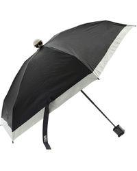 Karl Lagerfeld Karl Ikonik Umbrella In Black