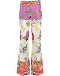 Genny Multicolor Flared Pants