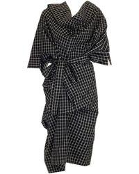 Vivienne Westwood Cliff Asymmetrical Dress - Black