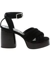 McQ Rise Sandals - Black