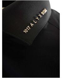 1017 ALYX 9SM Collar Logo Shirt - Black