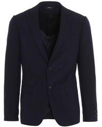 Z Zegna Wool Suit - Blue