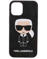 Karl Lagerfeld K Ikonic Iphone 12mini Cover - Black