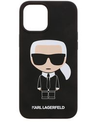 Karl Lagerfeld K Ikonic Iphone 12pro Max Cover - Black