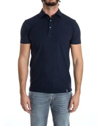 Drumohr - Cotton Polo - Lyst
