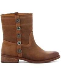 Pinko Oxalis 1 Suede Ankle Boots - Brown