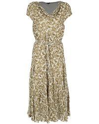 Aspesi Patterned Dress - Green