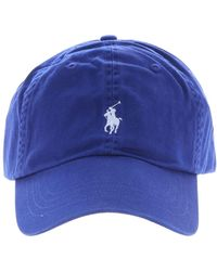 info for 19007 aad2c Polo Ralph Lauren - Bluette Baseball Cap With Logo - Lyst