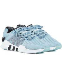 innovative design 1df51 3bf6b adidas Originals - Light Blue Eqt Racing Adv Primeknit Sneakers - Lyst