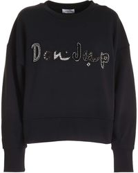 Dondup Studs Sweatshirt - Black