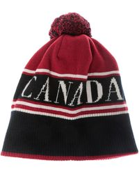 canada goose womens bobble hat