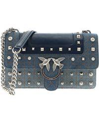 Lyst - Versace Jeans Moc Croc Bucket Drawstring Shoulder Bag in Black c23c0625ad