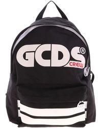 Gcds White Logo Backpack - Black