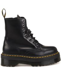 Dr. Martens - Jadon Black Combat Boots - Lyst