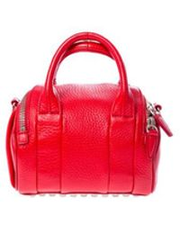 "Alexander Wang ""rocco Duffel"" Red Bag"