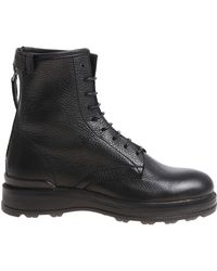 Woolrich - Black Ankle Boots With Zip - Lyst