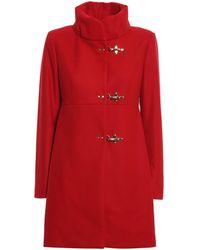 Fay Romantic Coat - Red