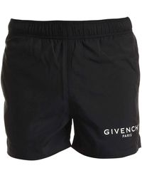 Givenchy Printed Swim Short - Black