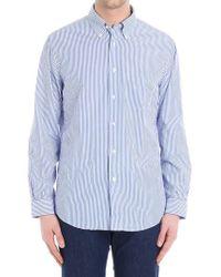 Brooks Brothers - Striped Seersucker Shirt - Lyst