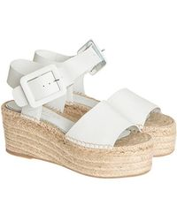 Palomitas By Paloma Barcelo' - Leather Sandal - Lyst