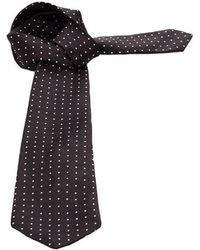 Lyst - Polo Ralph Lauren Classic Tartan Tie in Black for Men 36f8b35d6ba