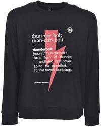 Neil Barrett - Thunderbolt Printed Sweatshirt - Lyst