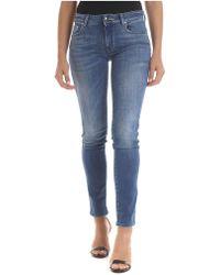 Jacob Cohen Slim Fit Jocelyn Jeans In Blue