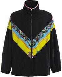 Versace Waterproof Blouson Jacket - Black