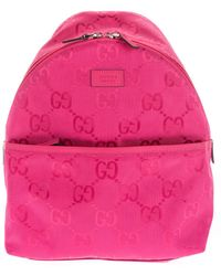 Gucci Gg Backpack - Pink