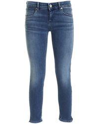 Dondup Jeans Lou Blu Delavè