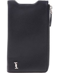 Tod's Phone Case With Zip Pocket - Black